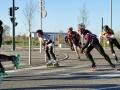 BSC Roller Skating. Semi-marathon de Blagnac. 9 mars 2014.